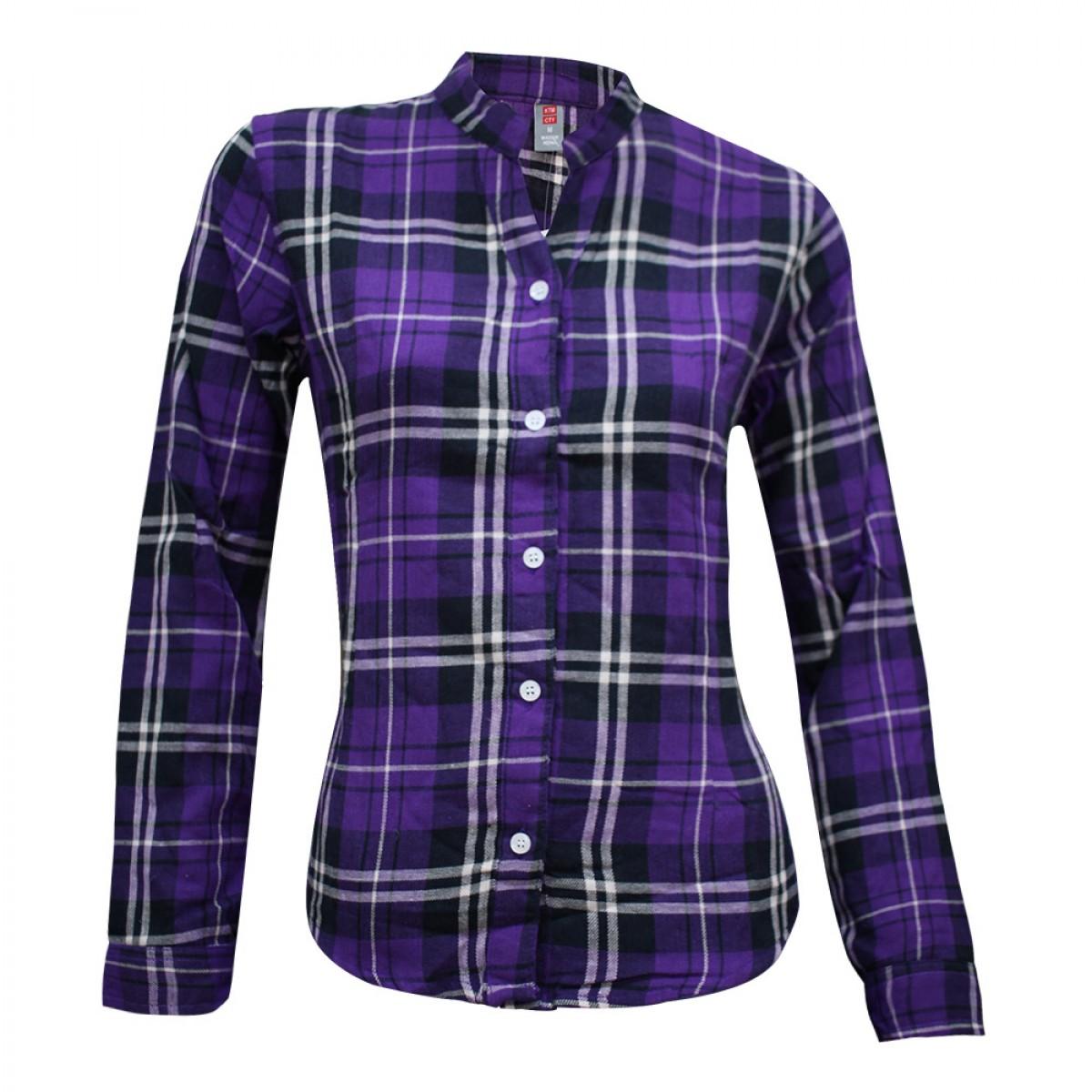women-cotton-checked-shirt-kcs96681-9a