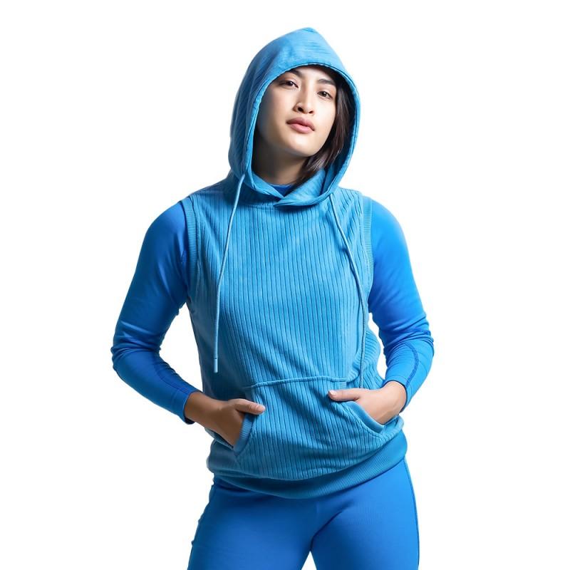 women-fleece-half-hoodie-kfh06904-5a