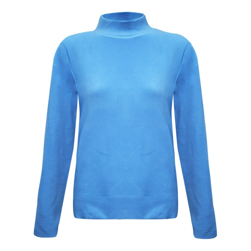 women-single-fleece-t-neck-vestkft06920-5b